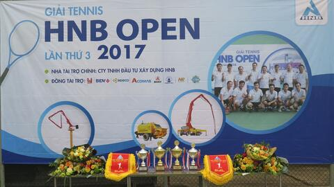 HNB TENNIS OPEN CUP 2017